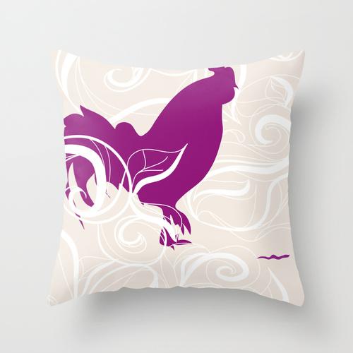 Society6 pillow